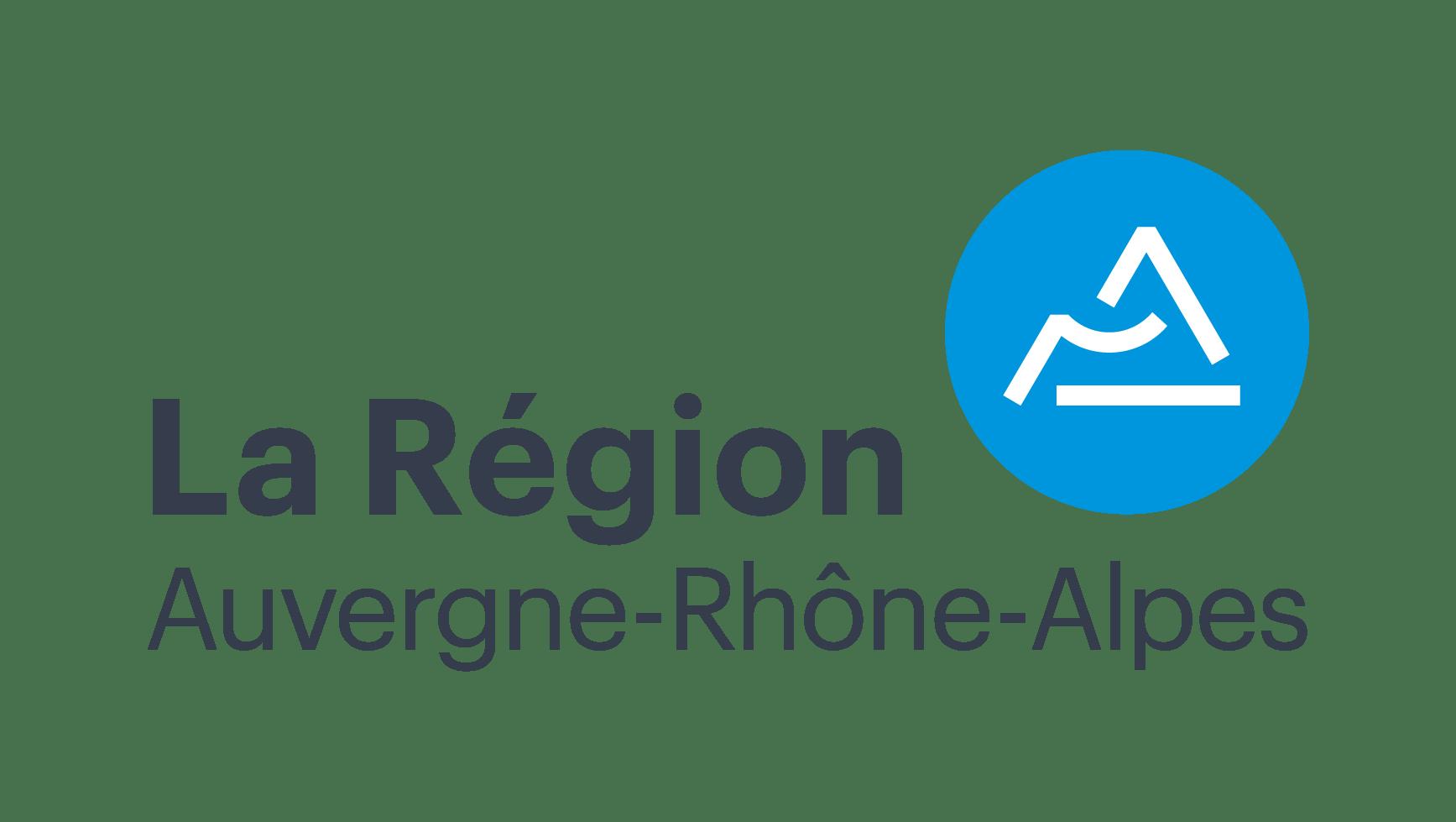 La région auvergne rhône alpes logo